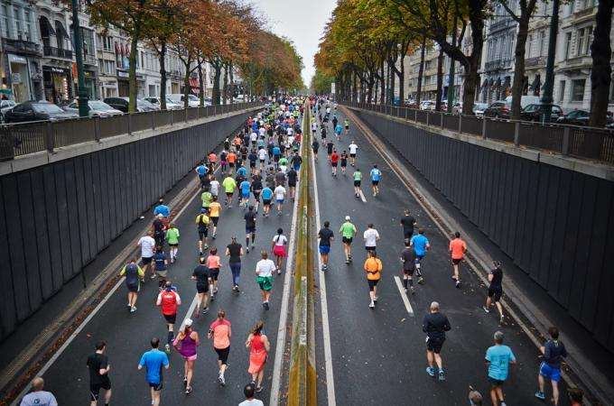 Spring sports: The Eiffel Tower Vertical and the Paris Marathon